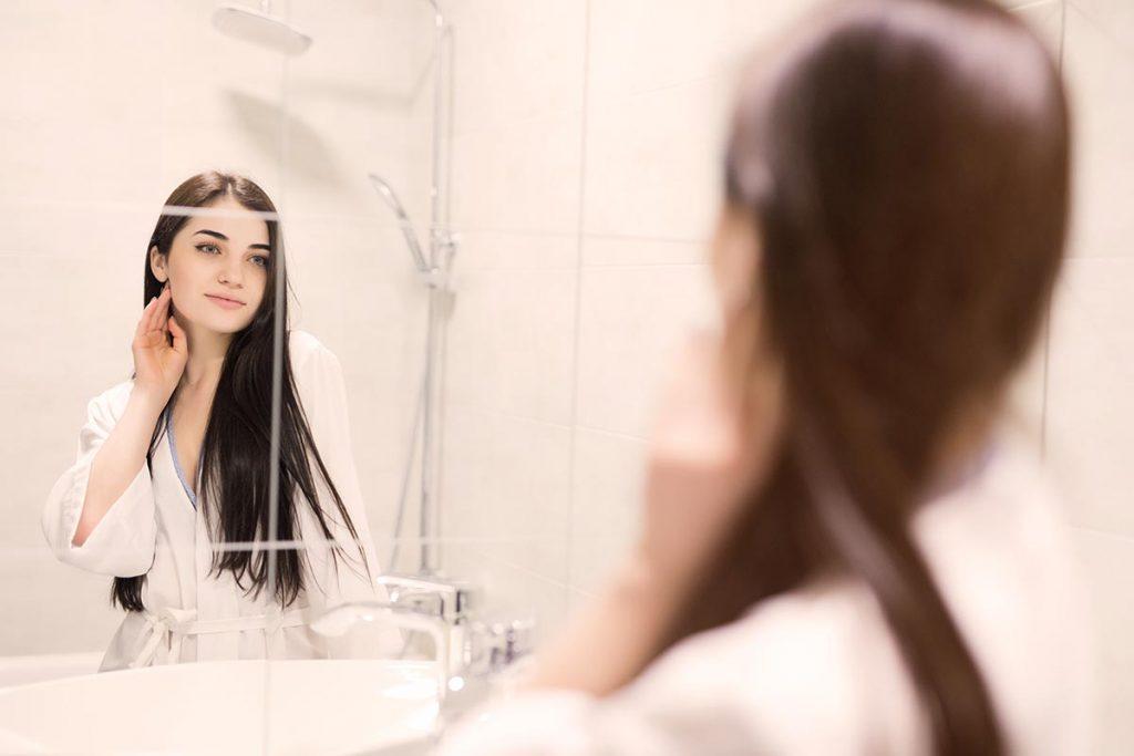 come riconoscere la forma del viso e tipologie di viso