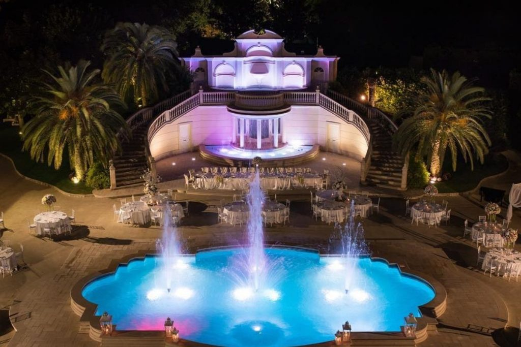 sun's royal park location matrimoni Cervino